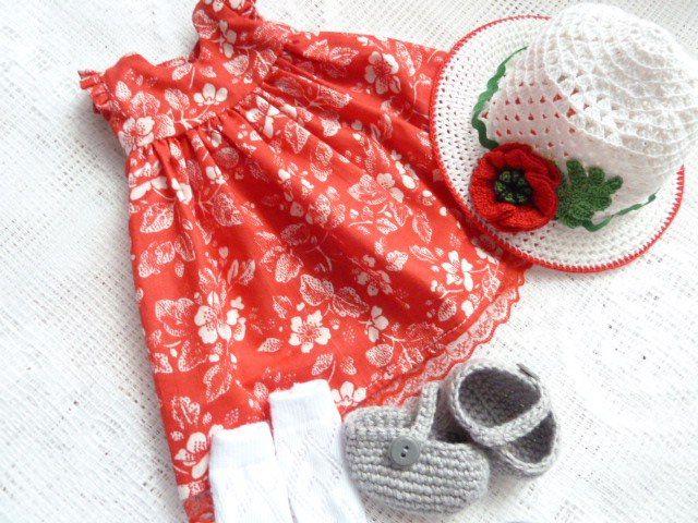 Купить одежда для вальдорфской куклы, кукольная одежда, платье для куклы, clothing for walfdorf doll