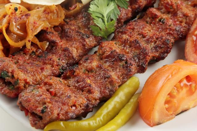 The 10 Best Turkish Kebabs:'Adana Kebab, courtesy of About.com