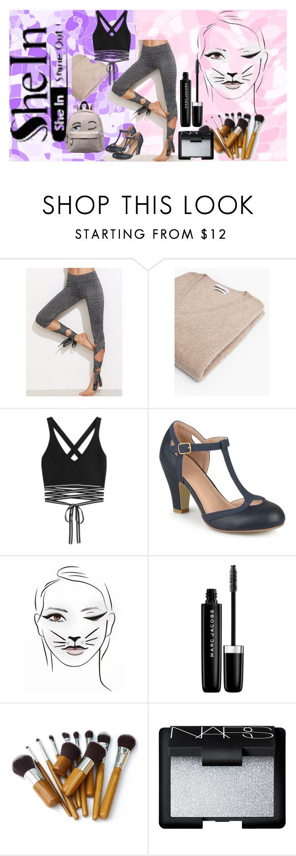 """Bala BAllerina!!!!!!"" by kalli-tsk ❤ liked on Polyvore featuring MANGO, Puma, Journee Collection, Marc Jacobs and NARS Cosmetics"