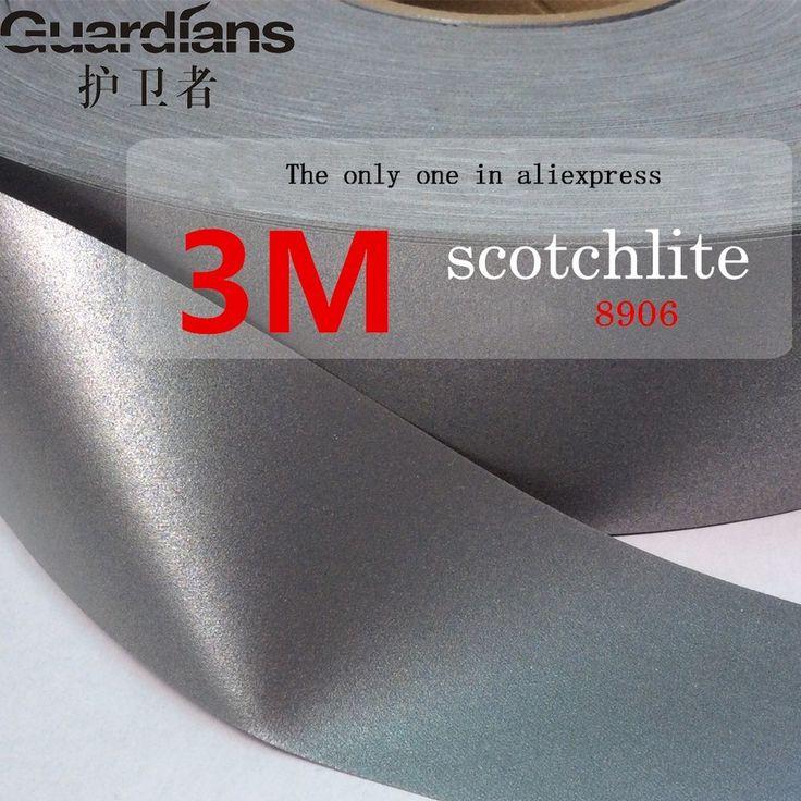 3 M kain jahit tekstil pakaian mandi DIY keselamatan reflektif tape reflektif bahan reflektif satu pc 1 meter