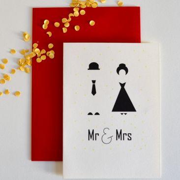Mr & Mrs Mod -  Paper goods from #Schwarzie