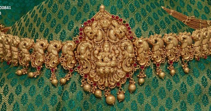 MattFinish WaistBelt  Jewellery  -  MattFinish Vaddanam Belt And Chain Type  http://ift.tt/2s0K5Vh