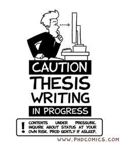 Best Thesis Images On Pinterest  Gym Academic Writing And  Caution Thesis Writing In Progress