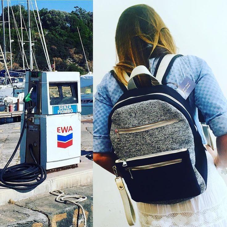 Partiamo?#lezirrenapoli #playa#mare #sea#ootd #iphonesia #instagood #napoli #instamood #instadaily #bags #mfw #f4f #l4l#love #girl #l4like #style #cool #tagsforlike #blogger #procida #style #instalike #bags#blonde #zaino #madeinitaly #love #food #summer #fashion #cool#viaggiare #