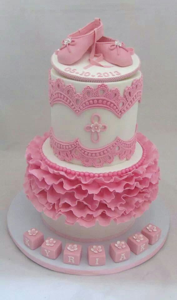 Pink ballet slippers cake wendy schultz via pinned by for Ballerina cake decoration