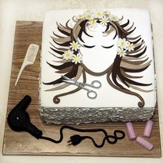 hairdresser cakes - Google Search