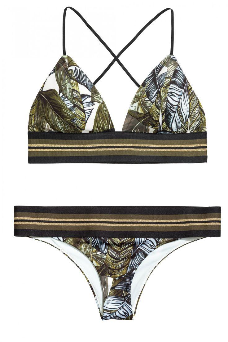 Maillot de bain 2017 : un bikini H