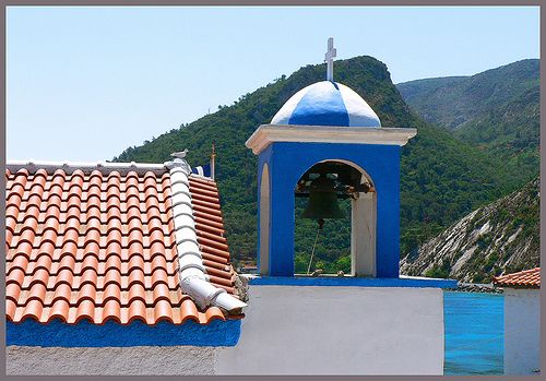 The chapel. Avlakia,SAMOS,Greece.