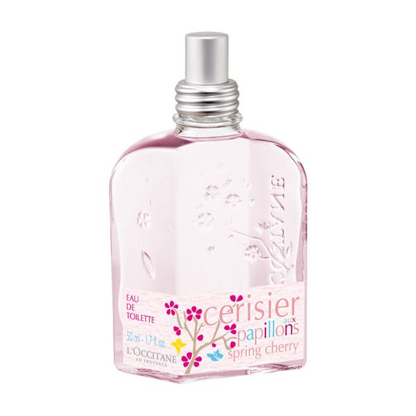 He loves me, he loves me not... treat yourself this Valentine's Day with our limited edition Spring Cherry Eau de Toilette ($42). Made with a cherry extract from Provence, this fragrance begins with fruity head notes followed by a floral heart. A woody base completes the eau de toilette, reminiscent of Spring and the lovely cherry tree!