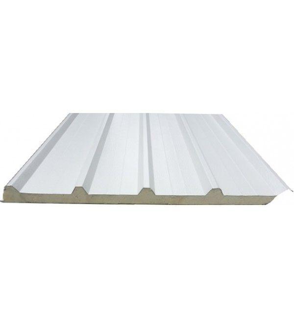 Boyalı Sac Panel 12m poliüretan dolgulu boyalı sac çatı paneli