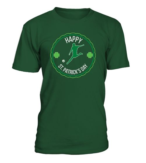 Soccer St Paddys Day Shirt