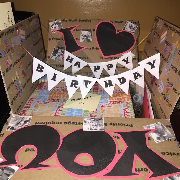 The 25+ Best Birthday Care Packages Ideas On Pinterest