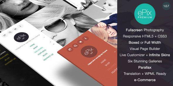 ePix – Themeforest Fullscreen Photograp...