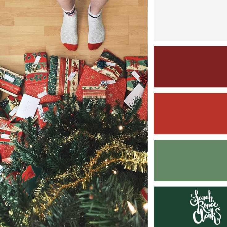 Christmas Picture Color Schemes.25 Christmas Color Palettes Hello Christmas Christmas