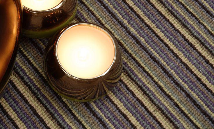 Stripe Carpets deco wimbledon tom dempsey