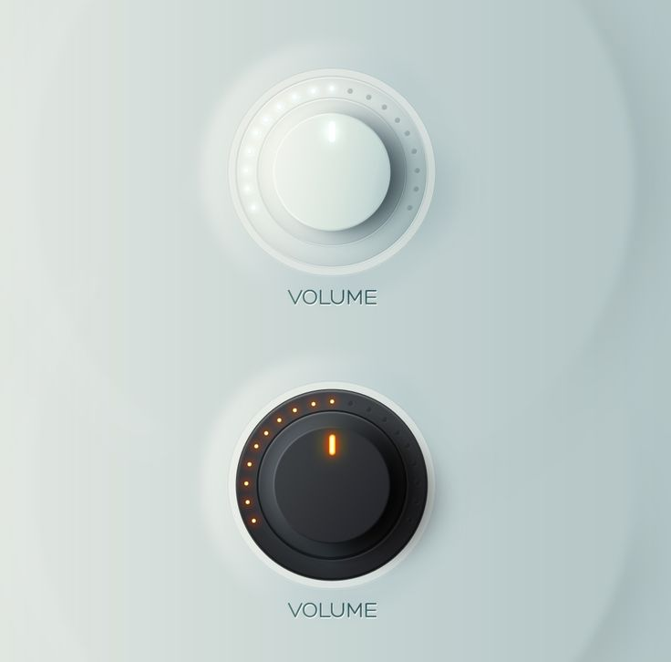 #Volume #Knobs, #Dark #Free #Light, #PSD #Resource