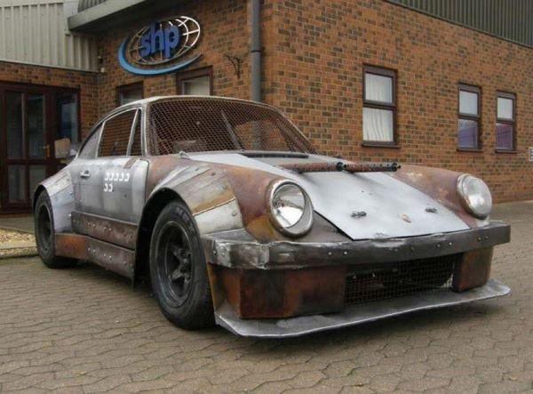 Mad Max Rat Rod Post Apocalyptic Zombie Defense Porsche