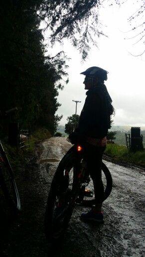 MTB in rural Bogota....2600 mts asl...