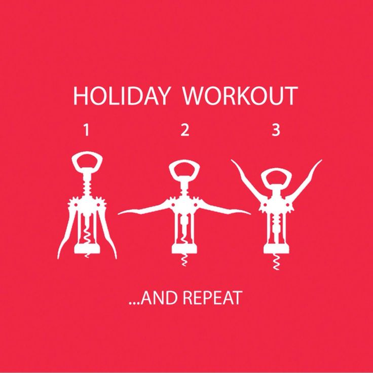 Funny Christmas Party Quotes And Sayings: Workout And Holiday