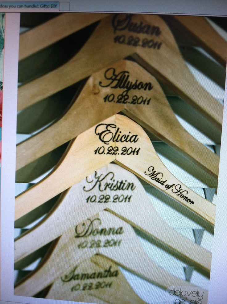 Hanger Vinyl Etsy VINYL DECAL DIY Name Date And Title For Wedding - Diy vinyl wedding hangers