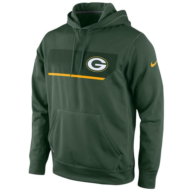 Men's Nike NFL Greenbay Packers Therma-Fit Performance Hoodie Size Small #Nike #GreenBayPackers