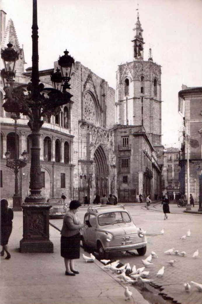 Catedral a o 1960 valencia antigua pinterest for Oficina objetos perdidos valencia