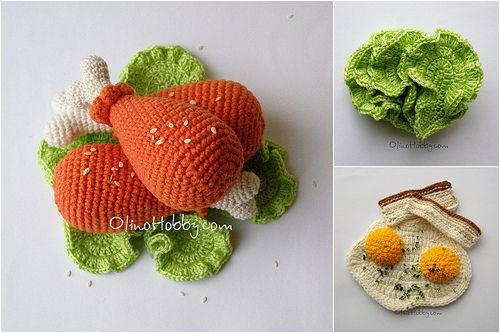 Crochet+Food | crochet food