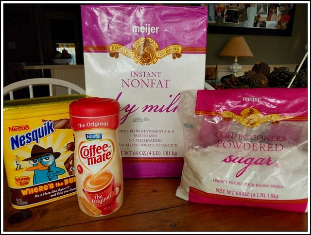 ingredients for hot chocolate mix by Andrea Dekker, via Flickr