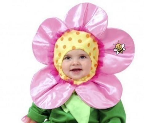 Vestiti di Carnevale per neonati fai da te
