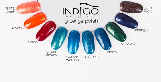 Indigo Nails Lab Ireland Glitter !!!