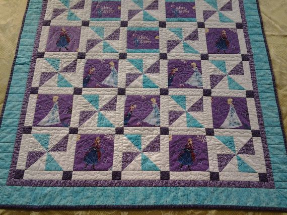 Frozen Forever Sisters Quilt Handmade using by StitchersCupboard, $145.00