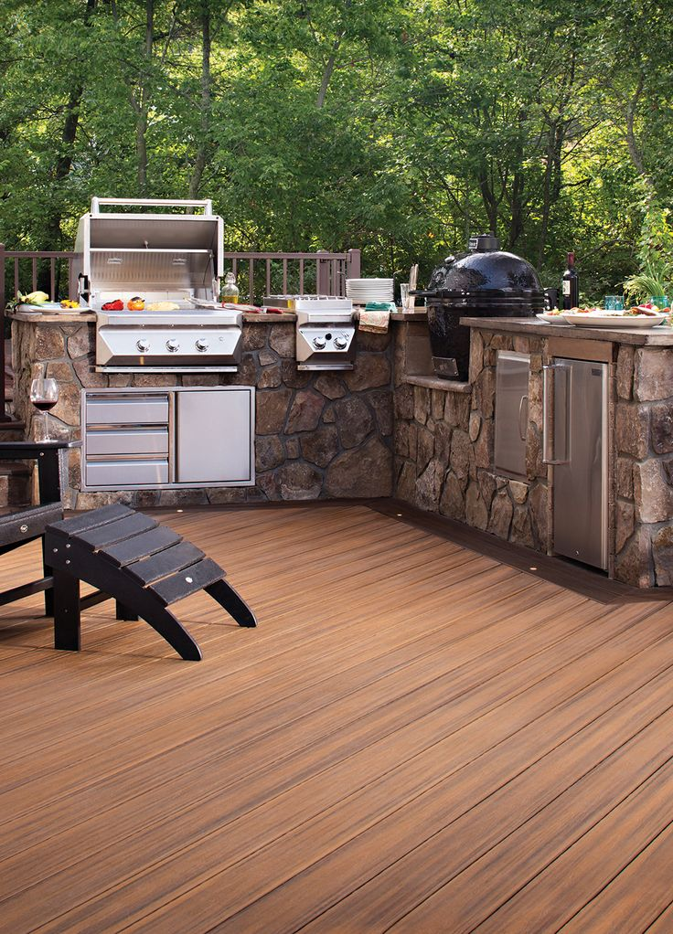 17 Best Ideas About Outdoor Kitchens On Pinterest | Backyard
