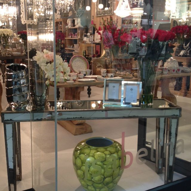 Our window display at Isabelina Garden Route Mall in George www.isabelina.co.za