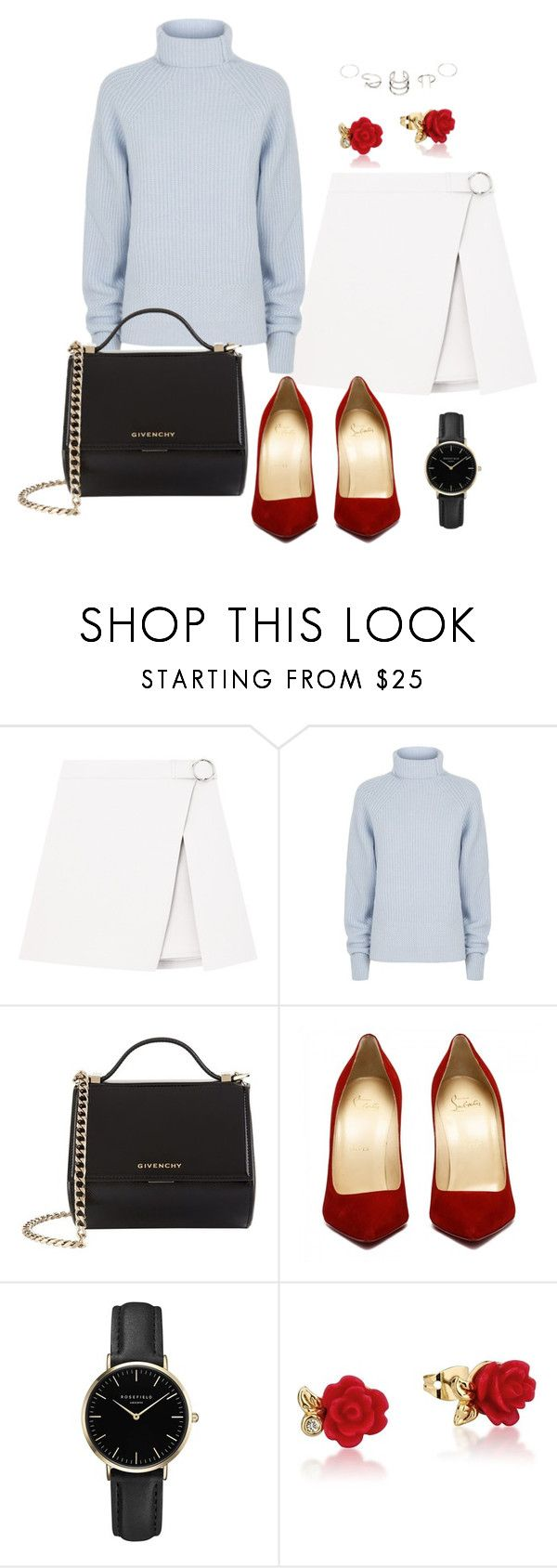 Untitled #51 by nicole-perestrelo21 on Polyvore featuring Maje, Givenchy, ROSEFIELD, Disney and RedShoes
