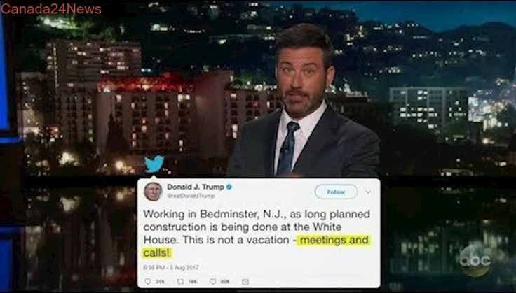 Jimmy Kimmel shares hilarious Mike Pence 'definitely not running in 2020' August 7, 2017