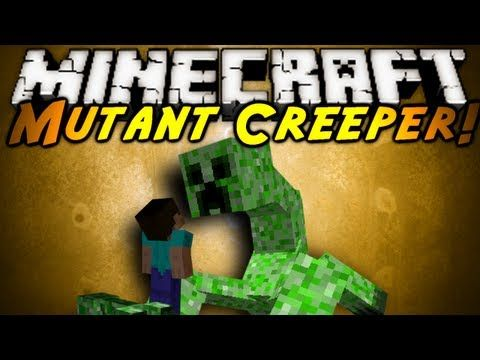Minecraft Mod Showcase : MUTANT CREEPERS!