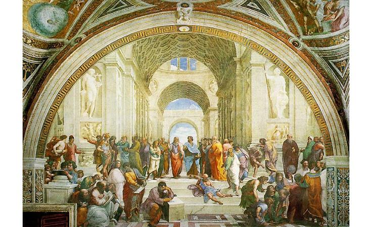 아테네 학당 (라파엘로) :: 네이버캐스트