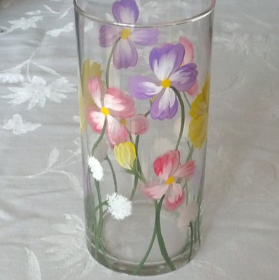 Best Hand Painted Candle Ideas Images On Pinterest Candle - Cool diy spring candles and candleholders