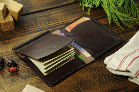 Personalized money clip wallet mens leather by Manufacturabrand
