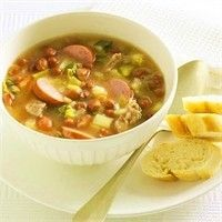 Bruine bonensoep recept - Soep - Eten Gerechten - Recepten Vandaag
