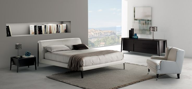 Like its name suggests, the Diamante is a range of upholstered designer beds of the highest quality and beauty. The detailed stitching and curved headboard are just two of the many features that makes this piece of Italian bedroom furniture a must have for the modern bedroom. https://buff.ly/2z3S8rK?utm_campaign=buffer&utm_content=buffer4a122&utm_medium=social&utm_source=pinterest.com&utm_campaign=buffer  #ItalianDesignerFurnitu…