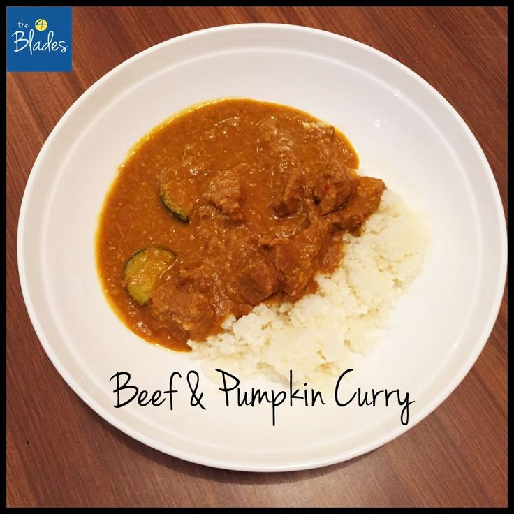 Beef & Pumpkin Curry Thermomix Recipe