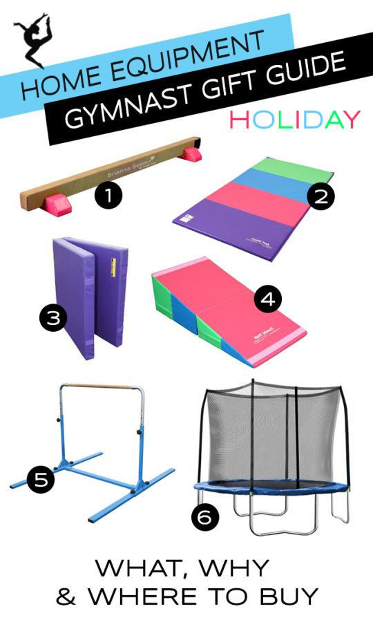 Gymnastics Equipment for the Home