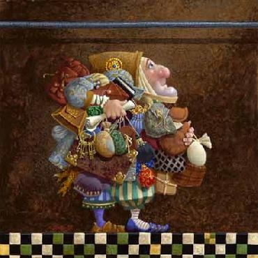 Hold to the Rod, the Iron Rod Canvas by James Christensen