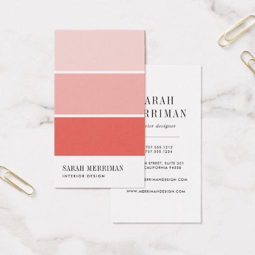 293 Best Interior Designer Business Cards Images On Pinterest