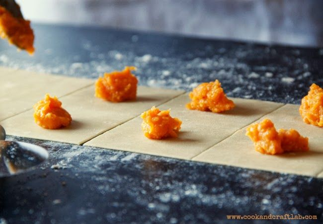 Pumpkin tortelli