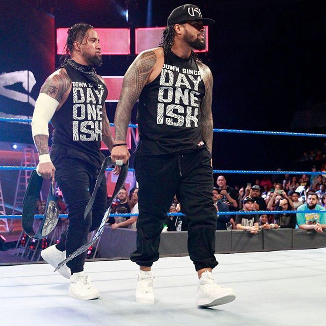wwe Watch The Usos take on #TheNewDay in an EPIC rap battle next week on #SDLive! @uceyjucey @jonathanfatu  2017/06/30 02:58:24
