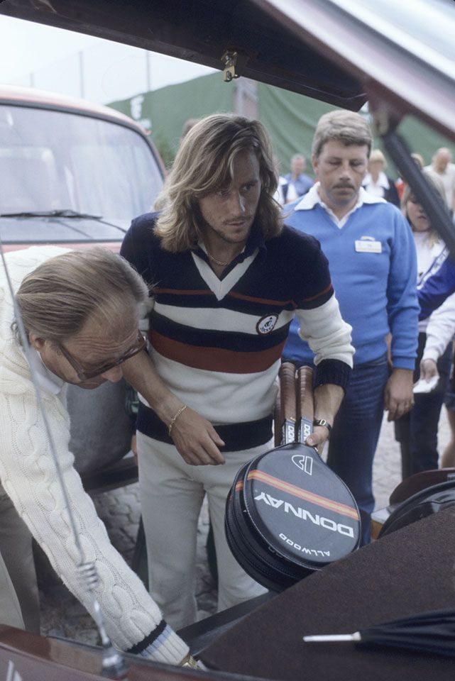 Rare Photos of McEnroe and Borg