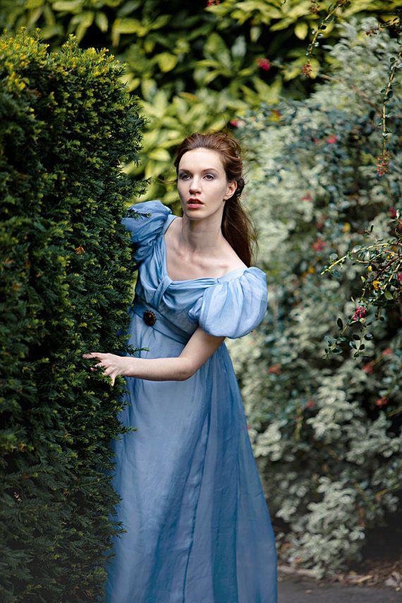 Costume Regency Ball Gown Jane Austen Beautiful