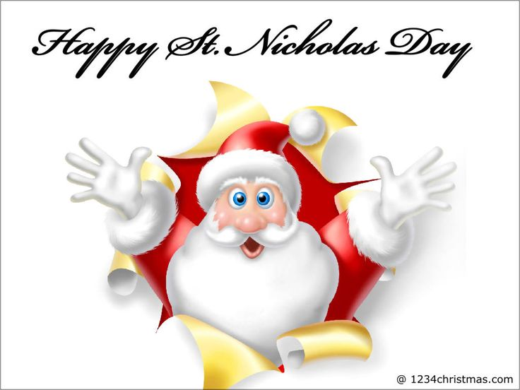 Awesome Feast Of St. Nicholas Greetings